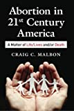 "The morality of abortion has emerged at the ""hot button"" issue of 21 C America. Steeped in controversy since the founding of the American colonies, legalized by the decision of Roe V. Wade, abortion remains the major spiritual, political, and theolog..."