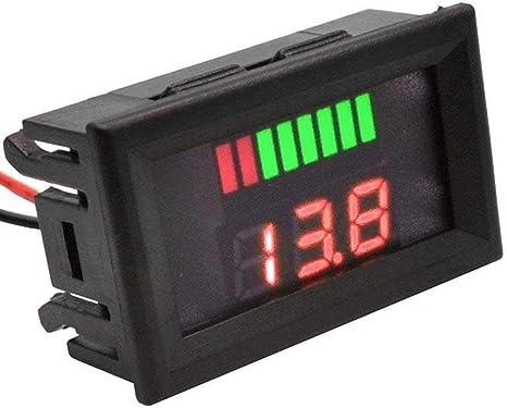 Indicatore Led Voltmetro 12V-60V DC