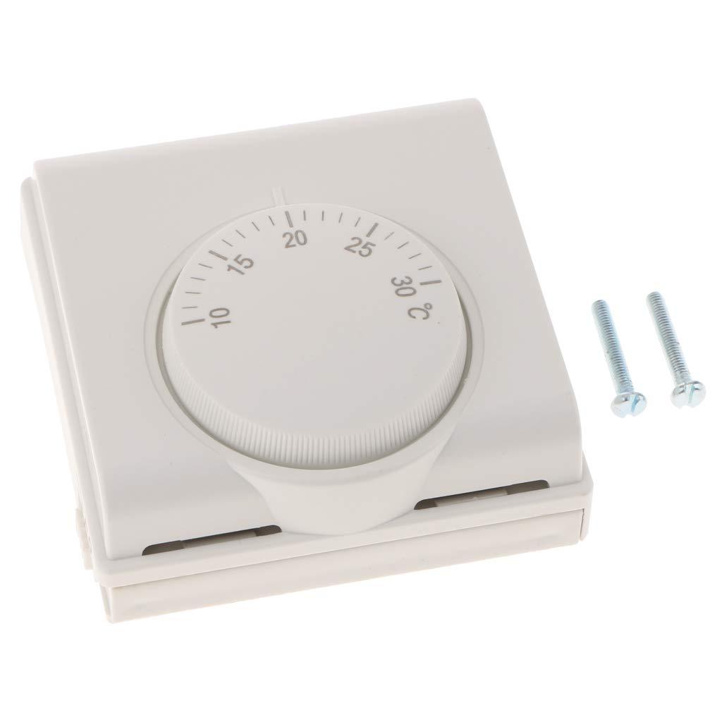 Homyl Termostato Manual para Calefacció n Central por Suelo Radiante Equipo de Instalació n Electró nica de Imagen - tal como se describe