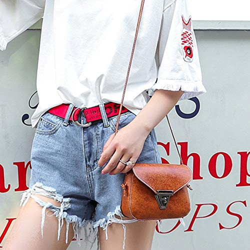 SeniorMar bolso la bolsa bolso PU ajustable de ocasional hombro del de mujeres Estilo el suaves bolso las de del Forme cruzada a mini fecha del que mujeres pequeño la aleta de hombro la cuero r8wz6Srvqx