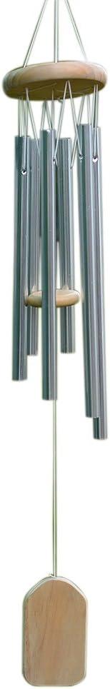 Springdoit 6 Tube Vent Cloche Pendentif d/écoration Beau croustillant et agr/éable Carillon Carillon d/écoration Cour Salle Porte et fen/être Jardin d/écoration