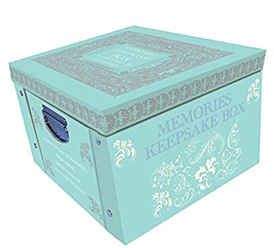 Tiffany Blue Memories & Keepsake Large Collapsible Storage Box by Robert Frederick
