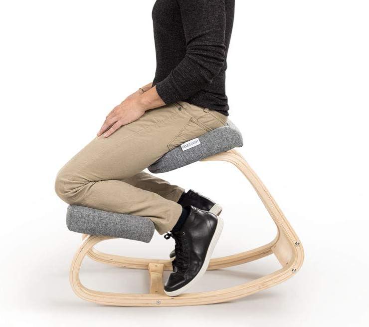 UPLIFT Desk – Ergonomic Kneeling Chair Gray