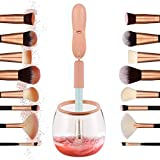 Makeup Brush Cleaner Wloomm Electric Makeup Brush Cleaner And Dryer Tool Kits in Seconds for All Makeup Brushes Cleaning