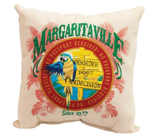 Margaritaville Set of 2 Outdoor Double Sided Decorative Throw Pillows