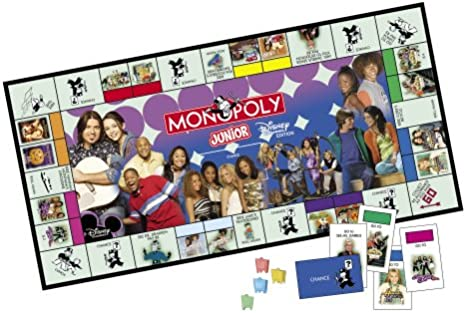 Monopoly Junior Disney Channel Edition by Hasbro: Amazon.es: Juguetes y juegos