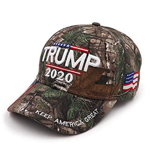 - NYKKOLA Trump 2020 Hat Cap Keep America Great Campaign Embroidered USA MAGA Hat, Baseball Bucket Trucker Cap