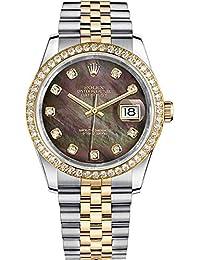 Men's Rolex Datejust 36 Gold & Steel Luxury Watch (Ref. 116243)