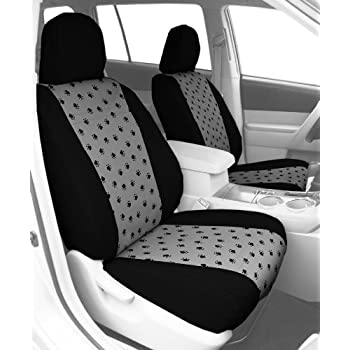 CalTrend Front Row Bucket Custom Fit Seat Cover For Select Kia Soul Models