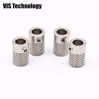 Knurled Wheel Drive stainless steel Gear Bore 5mm For Ultimaker 2 UM2 Feeder