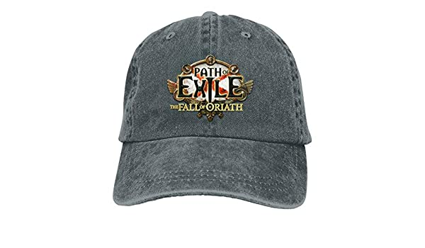 Rodney L Robbins Path of Exile The Fall of Oriath Unisex Adjustable Casual Hat