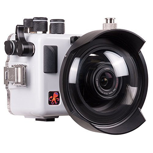 Price comparison product image Panasonic Lumix G7II / GX80 / GX85 Underwater Housing by Ikelite 6961.85 and Tray with Dual Release Handles w / Leak Sensor
