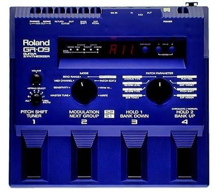Sintetizador para Guitarra Roland GR-09