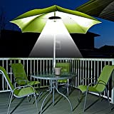 Patio Umbrella Light INKEER 3 Lighting Modes