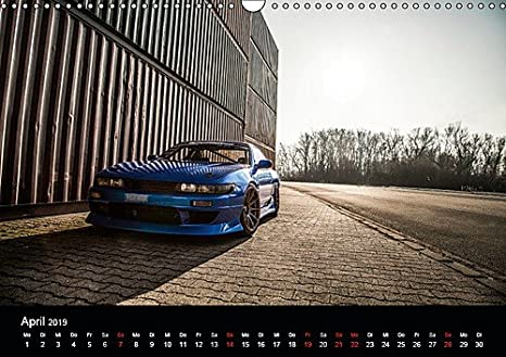 Amazon.com : Nissan Silvia PS13 - EIN 4 rädriges, blaues Kraftpaket auf Deutschen Strassen. (Wall Calendar 2019, 14 Pages, Size DIN A3=11.7 x 16.5 inches) ...