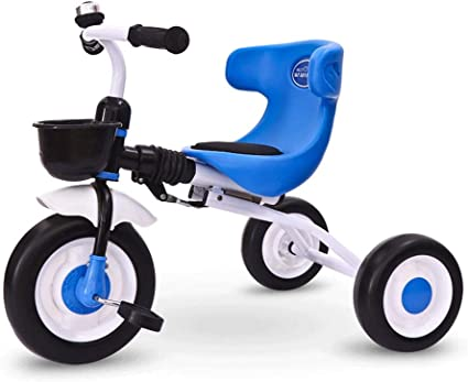 YGJT 3 in1 Toddler Tricycle for 2-6 Year Old Folding Kids Trike /& Balance Bike Outdoor Riding Toys for Boys Girls Birthday Blue