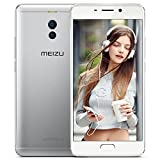 Meizu M6 Note Unlocked Smartphone 4G LTE Cell Phone 3G RAM 32GB ROM Snapdragon 625 5.5'' 1080P Fingerprint Dual Rear Camera 12MP+5MP Front Camera 16MP 4000mAh Android 7.1 (Silver)