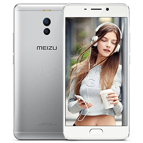 Meizu M6 Note Unlocked Smartphone 4G LTE Cell Phone 3G RAM 32GB ROM Snapdragon 625 5.5'' 1080P Fingerprint Dual Rear Camera 12MP+5MP Front Camera 16MP 4000mAh Android 7.1 (Silver) by Meizu
