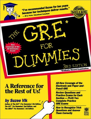 The GRE? For Dummies? (GRE CAT  FOR DUMMIES)