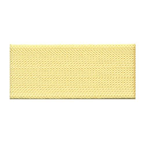 S.I.C. SIC-105 ポリエステル薄手ニットテープ 15mm C/#5 クリーム 1巻(30m)