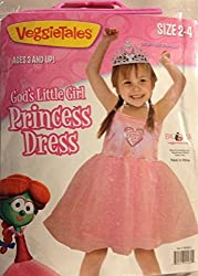Gods Little Girl Princess Dress Size 2/4