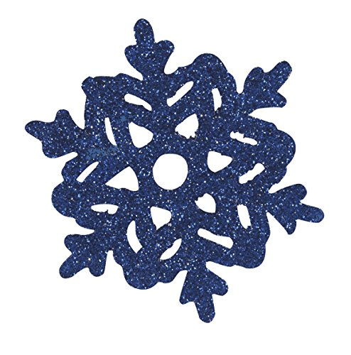 Paper Cutout Glitter Snowflake Holiday Decorations, Assorted (Frozen Halloween Ideas)