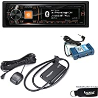 Alpine CDE-HD149BT Advanced Bluetooth CD Receiver and Sirius XM tuner and Steering Wheel Control Interface bundle