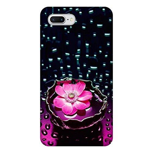 Coque Apple Iphone 7+ - Fleur Lotus rose