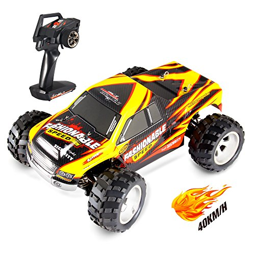 Geekper Remote Control Car - 40KM/H Terrain RC Car - Electric Remote Control Off Road Monster Truck 1:18 Scale 2.4Ghz Radio 4WD Fast RC Cars