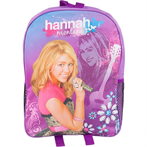 Hannah Montana Roll - Hannah Montana - Hanna Rockin' Portrait Medium Backpack