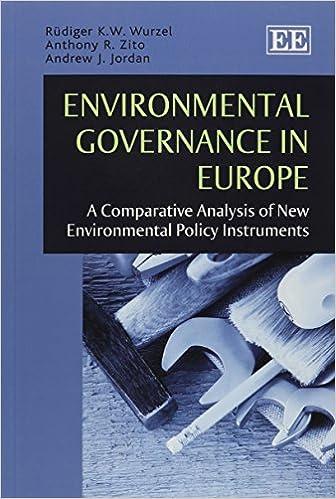 Descarga gratuita de libros en formato pdf. Environmental Governance in Europe: A Comparative Analysis of New Environmental Policy Instruments 1782545026 MOBI