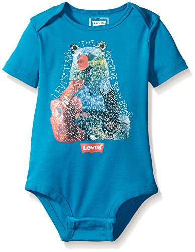 Turkish Tile Apparel (Levi's Baby Boys' Bodysuit, Turkish Tile, 12)