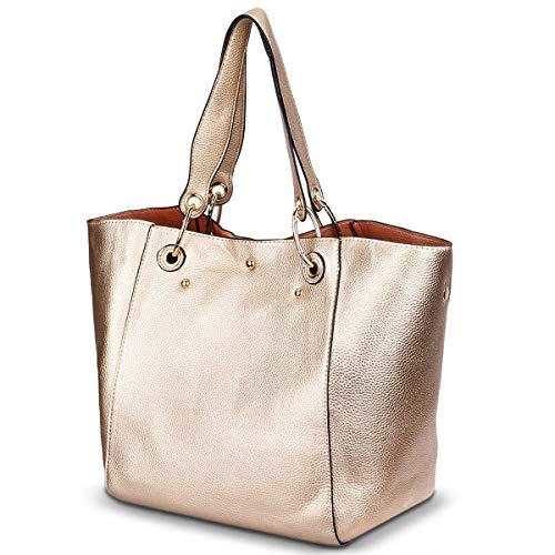 TinTop Women Handbag Top Handle Satchel Handbags Retro Tote Bag Large Big Women's Leather Tote Handbag (Tote Leather Retro)
