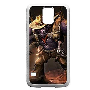 Alistar-005 League of Legends LoL For Case Ipod Touch 5 Cover - Hard White