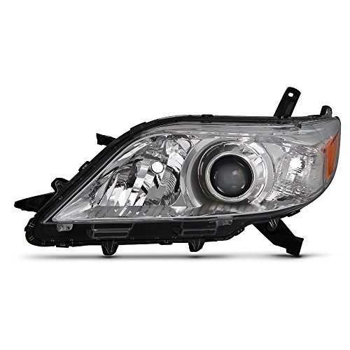 (ACANII - For 2011-2017 Toyota Sienna Halogen Model Replacement Headlight Headlamp - Driver Side Only)