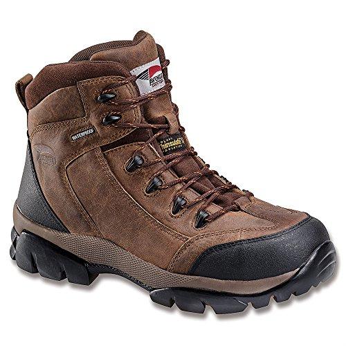 Avenger Safety Footwear Heren 7264 Werklaars Bruin