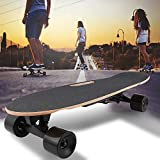 shaofu Electric Skateboard Youth Electric Longboard with Wireless Remote Control