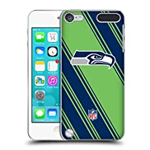Official NFL Stripes 2017/18 Seattle Seahawks Hard Back Case for Apple iPod Touch 4G 4th Gen