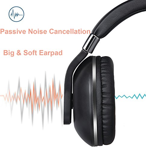 Amazon Prime Deals, Wireless Headphones,Bluetooth Gaming Work Travel On-Ear Over-Ear Headsets with Mic Noise Canceling Stereo Bass Earphones for iPhone iPad iPod Android Devices (Grey)