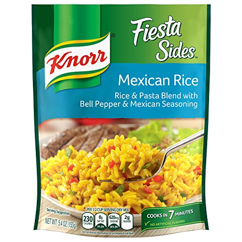 Knorr Fiesta Side Dish, Mexican Rice, 5 4 oz - Buy Online in UAE