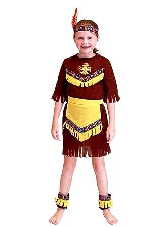 Disfraz de indio - disfraz - carnaval - halloween - nativo ...