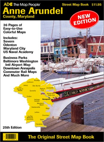 ADC Anne Arundel County, Maryland street map book
