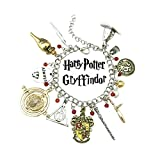 US Family Brand Harry Potter House Gryffindor Charm Bracelet Gift Boxed