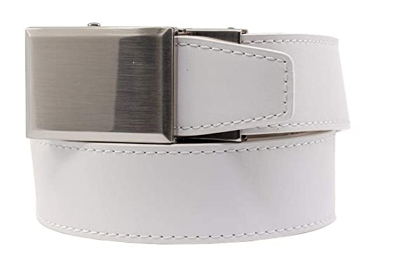 68bf9fbad24147 2019 Go-In! Shield V.3 White Leather Golf Belt for Men with ...