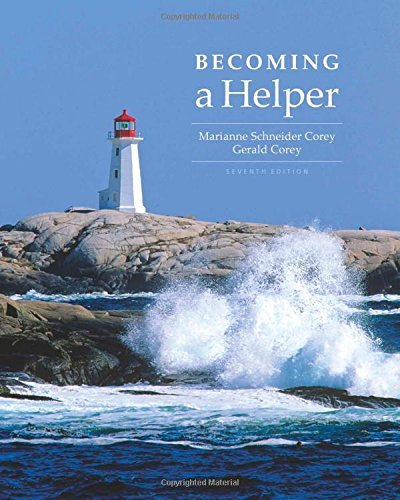 By Marianne Schneider Corey Becoming a Helper (7th Seventh Edition) [Paperback]