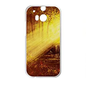 Autumn sunset scenery Phone Case for HTC One M8
