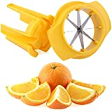 YIJIA ABS Plastic Orange Slicer Stainless Steel Blade Orange Zester Peeler Tool with Holder
