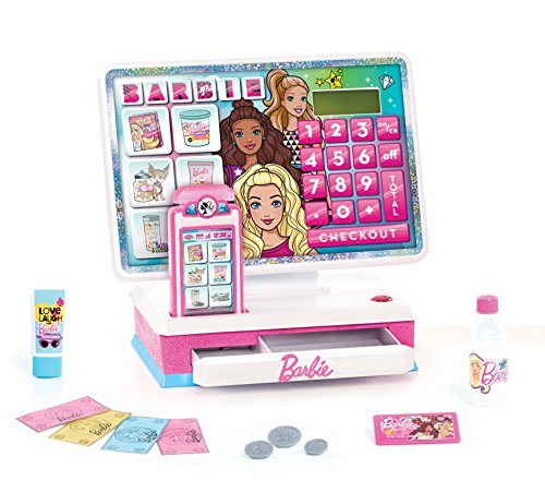 Barbie Large Cash Register, Interactive Toy with