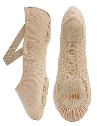 Bloch 210 Rosa Proflex Canvas Ballet 8L C Fitting Ujb6gR