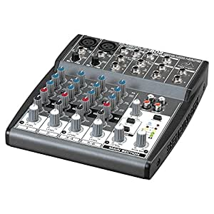 BEHRINGER XENYX 802 MIXING CONSOLE- XENYX 802 - Pack of 1 [Electronics]